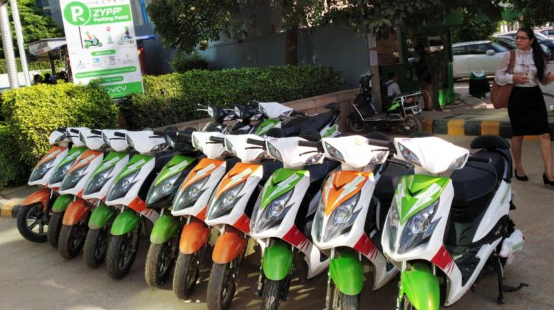 The company runs on an asset-light model to fund scooters and uses scooters indigenously made by Indian electric manufacturers.