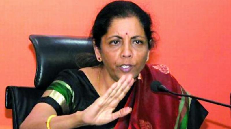 Defence Minister Nirmala Sitaraman
