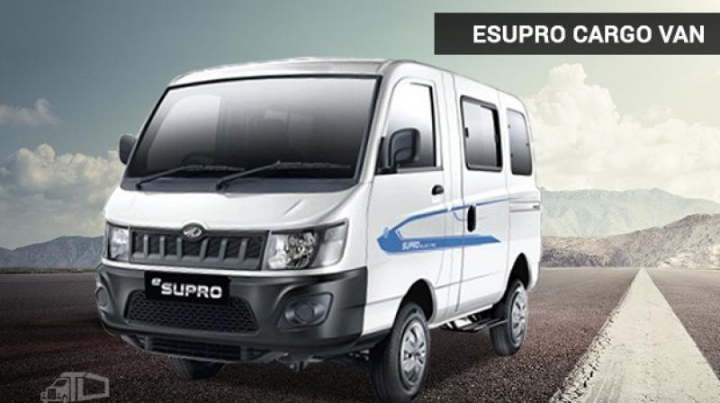 9f16db2a67 Brring Logistics Orders 50 Mahindra eSupro Cargo Vans
