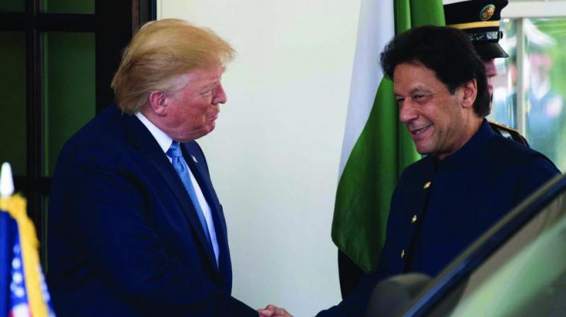 President Donald Trump has said the US' ties with Pakistan have improved after he cut USD 1.3 billion in security assistance to Islamabad for not doing enough to rein in terror groups operating in the country. (Photo: File)