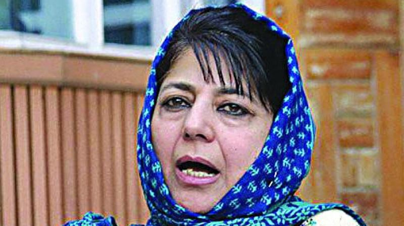Former Jammu and Kashmir chief minister Mehbooba Mufti's daughter has asked the administration to shift her mother, under detention at a guesthouse here for the last three months, to a place equipped to deal with the Valley's harsh winter. (Photo: File)
