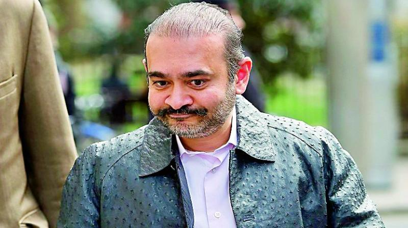 Nirav Modi's presence was recently figured in a video released by The Daily Telegraph, walking on London streets and responding to queries by its reporters with 'No comment'. (Photo: File)