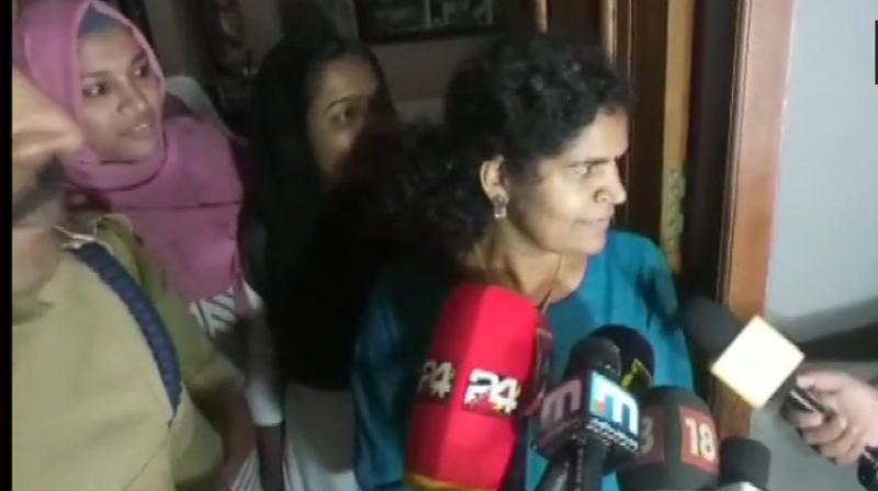 Durga was earlier assaulted by her mother-in-law for entering the Sabarimala temple. (Photo: ANI | Twitter)