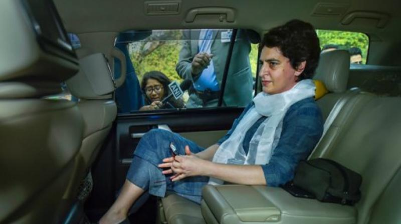 Robert Vadra was dropped off at the office by his wife Priyanka Gandhi Vadra. (Photo: PTI)