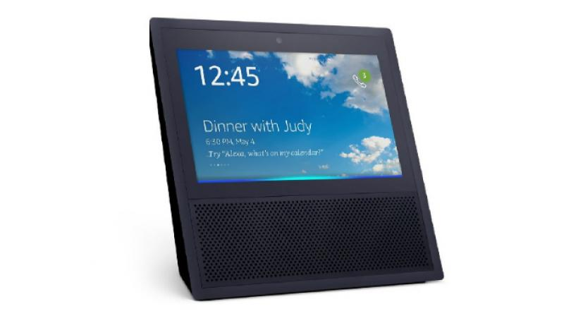 The device is said to be similar to the Amazon Echo Show with Google Home speakers and Google Assistant at the core. (Representational image/Amazon Echo Show)