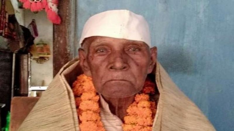 Freedom fighter Dayanidhi Nayak (Photo: ANI)
