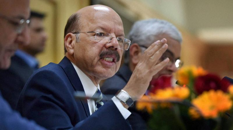 Chief Election Commissioner Nasim Zaidi. (Photo: PTI)