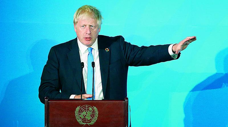 Johnson had sent a photocopy of the letter contained in the law that requires him to ask for the delay if there is no Brexit deal, but didn't sign it. (Photo: File)