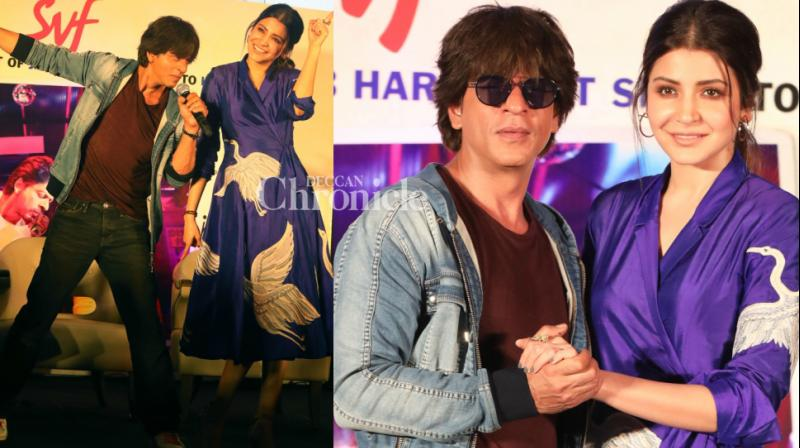 The team of 'Jab Harry Met Sejal' have continued the promotions of the film, even after it hit the theatres on Friday, and held an event in Kolkata on Saturday. (Photo: Viral Bhayani)