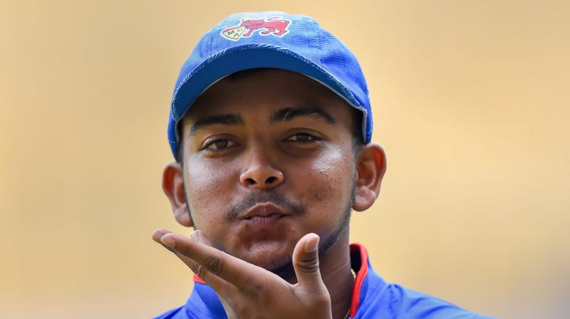 Mohammed Siraj sledged Prithvi Shaw, gets a befitting reply