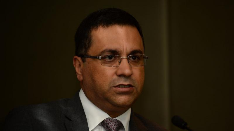 The BCCI on Thursday clarified that acting secretary Amitabh Choudhary is attending the ongoing ICC meeting in Singapore in his usual capacity as the world body's Board Director and not as a replacement for CEO Rahul Johri, who is battling allegations of sexual harassment. (Photo: AFP)