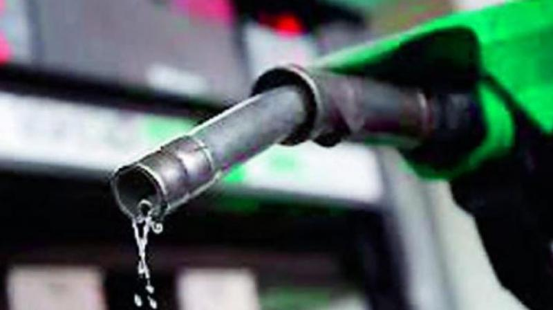 Talking to newsmen here on Tuesday, president of Vizag Petrol Dealers' Association M. Narayana Reddy said some sales officers from the oil companies have warned the dealers in the city against taking part in the strike. (Representational image)