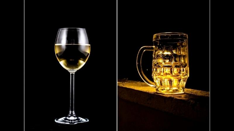The experts did not find any truth in the idea that drinking beer before wine gives you a milder hangover. (Photo: Representational/ANI)