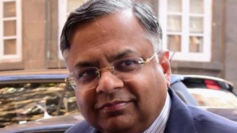 Tata Sons' chairman Natarajan Chandrasekaran