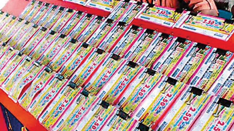 Illegal lotteries: Rs 5 crore Mizoram lottery seized