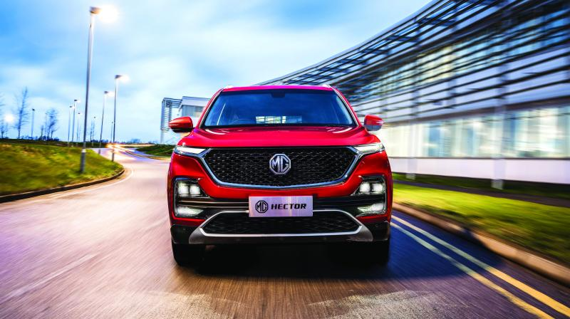 With the launch of new Hector, the 95-year-old British automaker is all set to disrupt the passenger car industry in the country, with its cutting edge car technology, developed in partnership with global technology players.