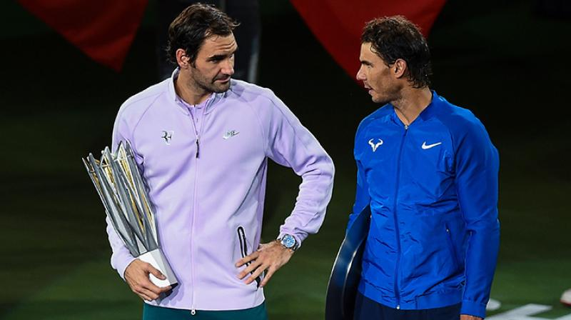 Roger Federer aims to topple Rafael Nadal from No