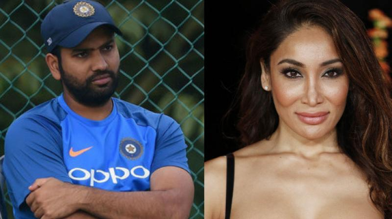 Earlier this year, Sofia Hayat had stated that she blocked the 30-year-old Rohit Sharma from her Twitter account.(Photo: AFP)