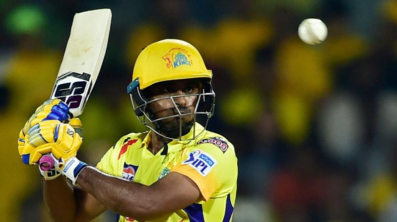 The World Cup snub to Rayudu is the sole disappointment in an otherwise superb tournament so far for CSK. (Photo: PTI)