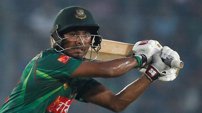 Mosaddek played a key role in Bangladesh's win over New Zealand at the 2017 Champions Trophy, when he picked up three vital wickets.(Photo: AP)