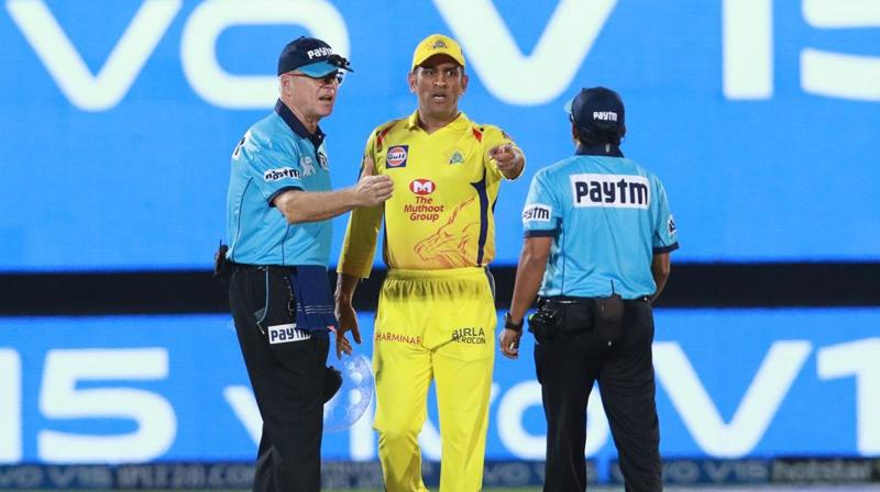 It is sometimes assumed that there are some matters that umpires can consult on, and others which they may not. This is not the case – if a colleague is in a better position to see, on any decision, consultation is encouraged on any point of fact. (Photo: BCCI)