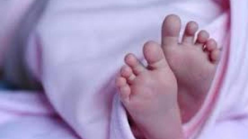 On inspecting the scene, it was found that the baby aged about one month, was buried after death. It looked like the girl child had died due to starvation or some other health complications.   (Representational Images)