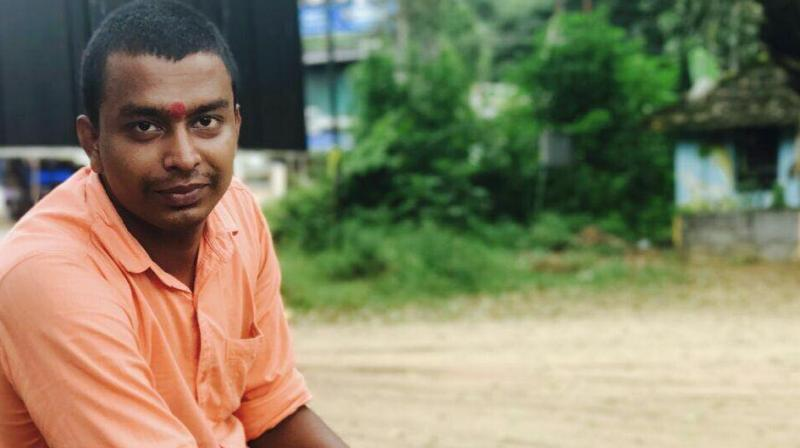 The 23-year-old RSS worker, Anandan, was hacked to death allegedly by CPI(M) workers on Sunday in broad day light. (Photo: ANI)