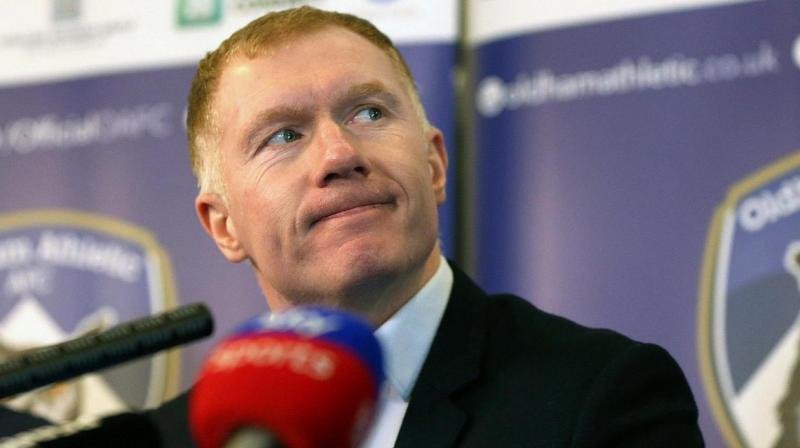 """Paul Scholes has apologized for what he described as a """"genuine mistake,"""" saying he didn't intend to """"flout the rules."""" (Photo: AP)"""