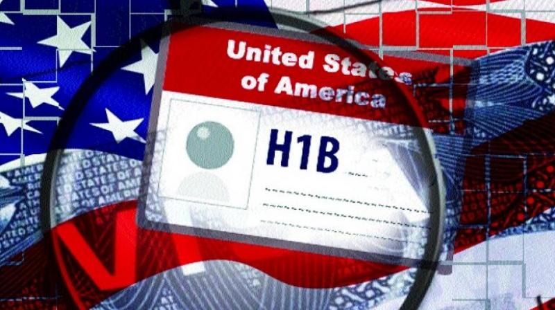The H-1B scheme offers temporary US visas that allow firms to hire highly skilled foreign professionals working in areas with shortages of qualified American workers.
