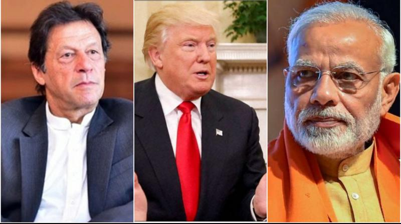 While Trump will address Indian-Americans, along with PM Modi, at the 'Howdy Modi!' event in Houston on September 22, the American president did not say when or where will he be meeting PM Khan. (Photo: PTI   Twitter)