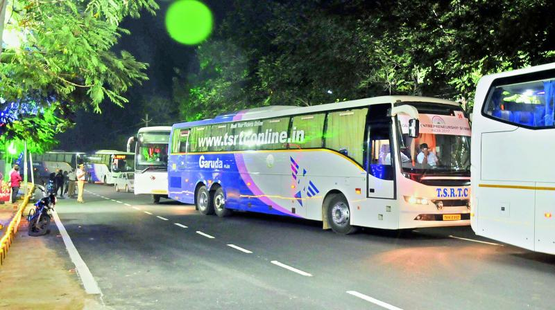 """The post in the name of the travels mocked the penal action by the MVD that the cancellation of license is """"just for two months"""" which is not at all an issue and the same driver will drive the bus. Derogatory comments were also made against media persons. (Photo: Representation/DC)"""