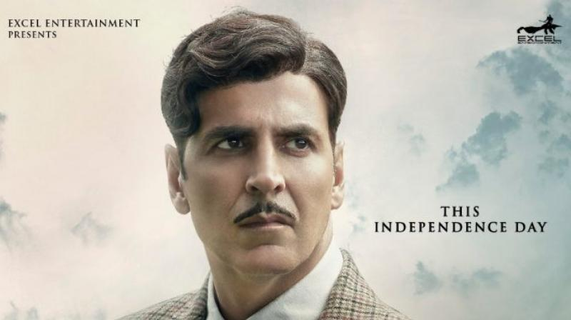 Akshay Kumar in the poster of 'Gold'.