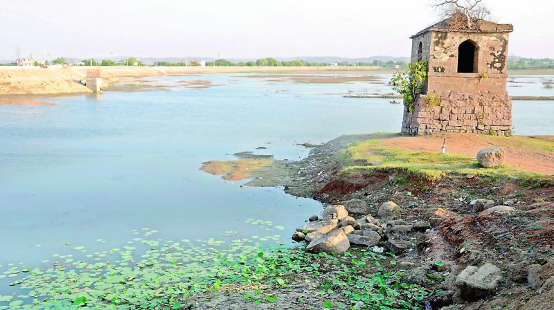 The main drinking water source for Nizamabad and Bodhan towns has been the Nizamsagar project and its balancing reservoir Singur.