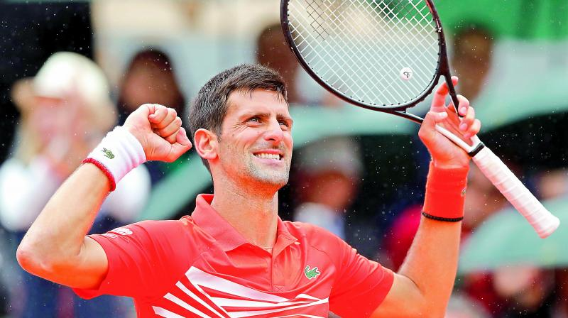 Novak Djokovic leads the men's ATP tennis rankings released Monday (Photo: AP)