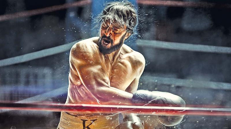 """Since sports are a universal emotion and Sudeep has pan-Indian appeal, I am producing the film in various languages,"""" Krishna tells DC."""
