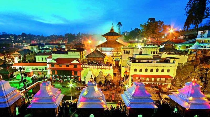 Pashupatinath temple   (credit: https://pashupatinathtemple.org/photo-gallery/)
