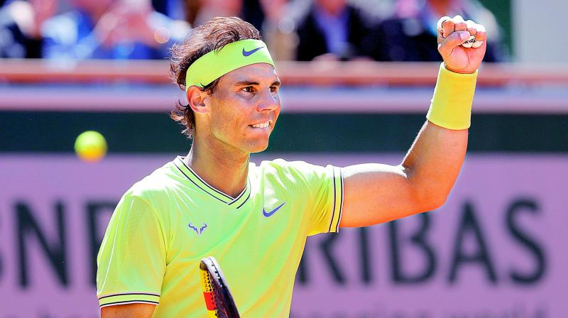 Nadal said he had struggled to stay motivated because of the constant pain but had been determined to acquit himself well at Roland Garros. (Photo: AP)