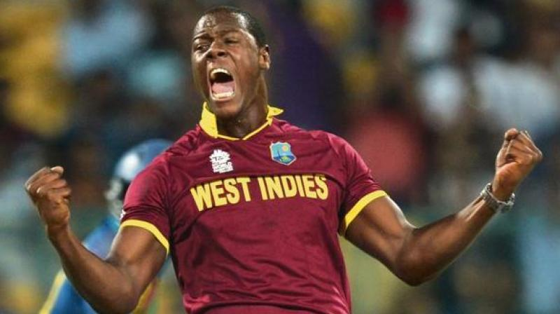 Brathwaite was found to have breached Article 2.8 of the ICC code of conduct for players and player support personnel. (Photo: AFP)