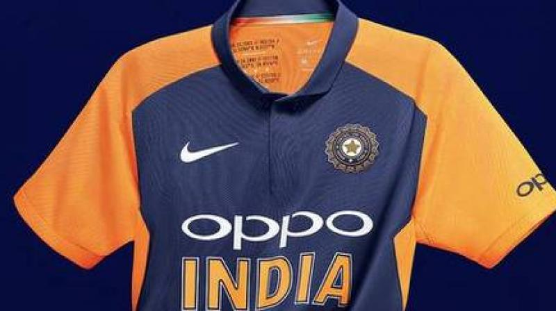 The need for an alternative jersey arose after International Cricket Council (ICC) issued a guideline before the start of the Word Cup. (Photo: Nike India)