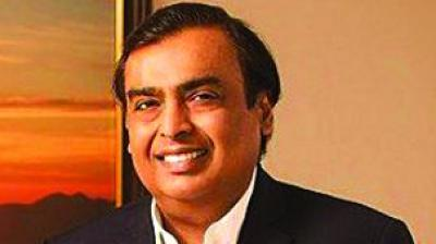 Richest Indian Mukesh Ambani.