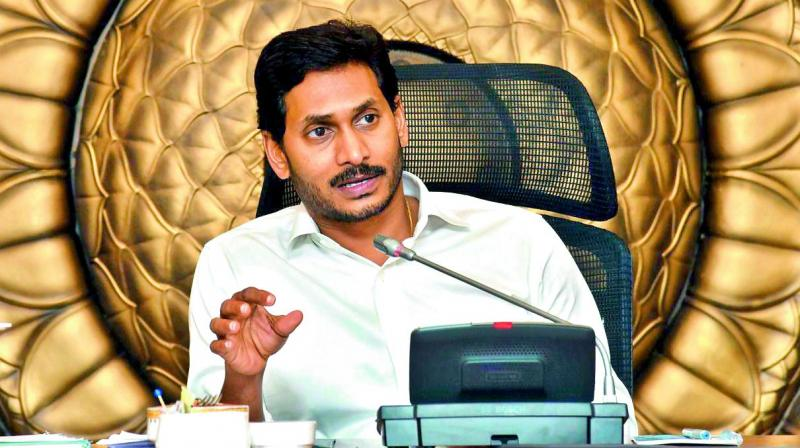 Jagan Mohan Reddy also announced 1.33 lakh village volunteer jobs for unemployed youth in Andhra Pradesh. (Photo: File)
