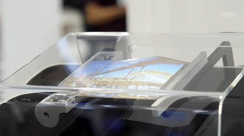 Sony is working on a rollable smartphone