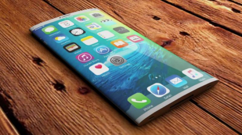 By launching a curved screen iPhone with a convex housing shape, Apple will be able to increase the internal volume of the handset but still manage to preserve a sleek, thin appearance that's visually pleasing. (Photo: Tech Designs)