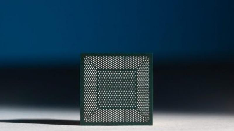 The chips are installed on a 'Nahuku' board that contains from 8 to 32 Loihi chips.