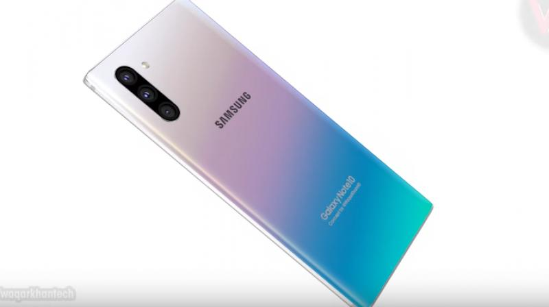 The Samsung Galaxy Note 10 will be the lower-end device of the two with the Galaxy Note 10+ coming with all the bells and whistles of a flagship.
