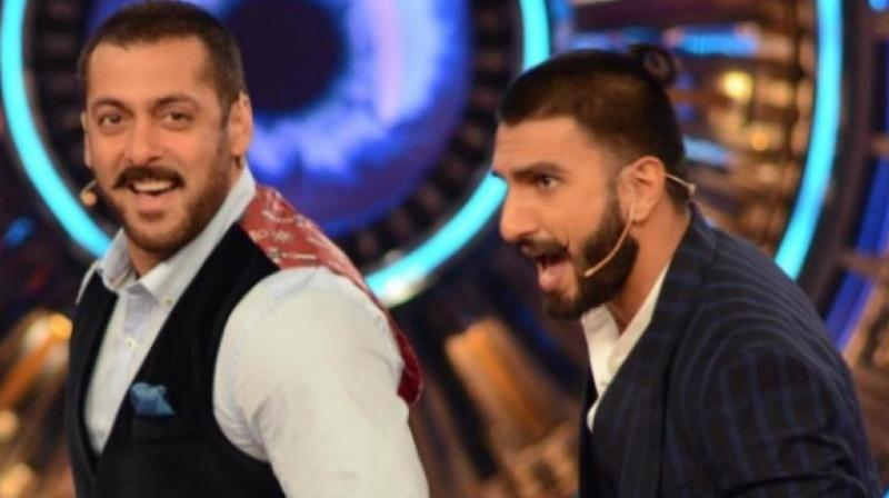 Salman Khan and Ranveer Singh.