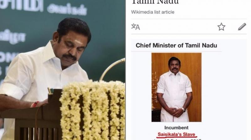 The battle for power in Tamil Nadu intensifies (Photo: Twitter)