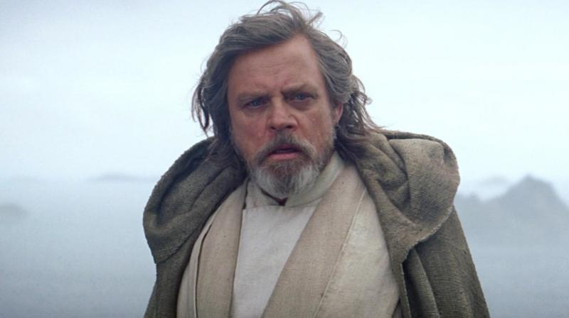 Mark Hamill in a still from the film.