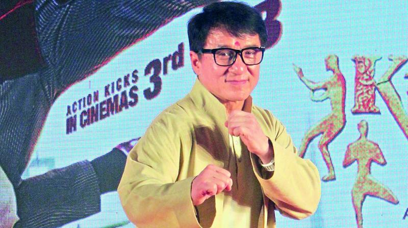 Jackie Chan (Photo: Mrugesh Bandiwadekar)