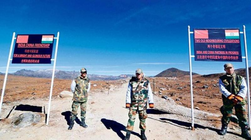 Since the standoff on June 6, Chinese media have carried several pieces blaming India for escalating border tension. In picture: India China border (Credit: AFP/Representational)
